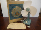 Vintage Large Russian USSR Electric Fan with Box , Works - 1979/80