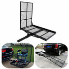 Folding Strong Electric Wheelchair Hitch Carrier Mobility Scooter Loading Ramp A