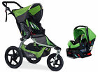 BOB 2016 Revolution Flex Stroller Travel System Meadow + B-Safe 35 Car Seat!