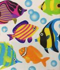 JELLY FISH Classic Clear Binder Stickers42pcStickoAngelfishTropical Bubbles
