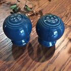 Fiesta Dinner Ware Bulb Salt and Pepper, Juniper (lovely blue-green) retired '01
