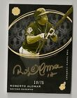 2016 TOPPS THE MINT ROBERTO ALOMAR AUTO # 75 GOLDEN ENGRAVINGS CLEVELAND INDIANS