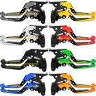 For Yamaha XT600/E/Z/ZE, XJ650/XJ900 F CNC Folding Extending Brake Clutch Levers