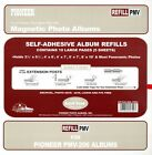 Pioneer Photo Album Refill Pages PMV up to 8