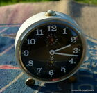 Classic Vintage French JAZ Mechanical Alarm Clock Working