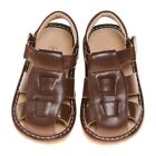 Boys Leather Toddler Brown Squeaky Sandals Sizes 1234 and 7