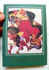 1989 GIBSON GREETINGS 14X COCA-COLA CHRISTMAS CARDS (1960 SANTA WITH ELVES AD)