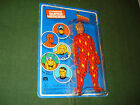 1979 MEGO HUMAN TORCH ACTION FIGURE ON FRENCH CARD NICE SHAPE8 FANTASTIC FOUR
