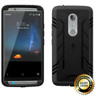 POETIC Heavy Duty Complete Protection Hybrid Case For ZTE AXON 7 2016 Black