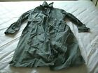 Army Raincoat Vietnam War Era 1967 Trench Coat