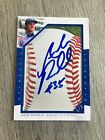 ASHE RUSSELL KANSAS CITY ROYALS INDIANA CUSTOM CUT AUTO SIGNED ROOKIE CARD #1 2