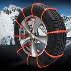 10PCS Universal Car Tire Tyre Anti-Skid Chain Ties Mud Rain Snow Wheel SUV Truck