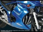 Suzuki GSF650S   Bandit  2009-2014  Fairing Lowers Black with Silver Mesh