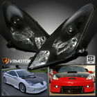2000 2005 Toyota Celica Black Clear Projector Headlights Replacement Left+Right