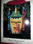 HALLMARK Keepsake 1993 BRIGHT SHINING CASTLE Crayola Crayons CHRISTMAS ORNAMENT