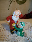 Hallmark Christmas Ornament A Fitting Moment Santa Mrs Claus 1993