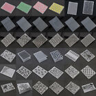 Plastic Embossing Folder Template DIY Scrapbook Paper Craft Various Pattern