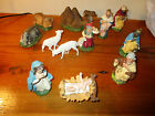 Nativity Scene made in Italy Camel Sheep 12 Pieces