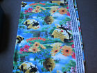 3 Yards Fleece Fabric Sykel Pillow Pets Bees Flying on Scenic