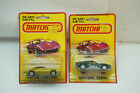 VINTAGE MATCHBOX CARS LOT 2 MUSTANG COBRA NO 16 PONTIAC 1980 LESNEY MOC TOY