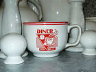 ReTiReD Fiesta *DINER* Scarlet red Open 24 Hrs  *JUMBO MUG* New-1st