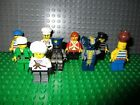 Lego Lot of 9 Minifigure Town City Guys Monster Pirate Minifig   9133