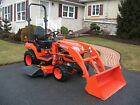 Kubota BX2370 compact tractor 103 hrs 4x4hydro 60 deck  loader VERY NICE