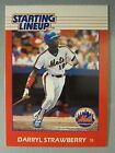 *Rare* 1988 Kenner Starting Lineup Cards #107 Darryl Strawberry *Hard to Find*