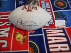 TEXAS A&M SIGNED AUTHENTIC BY JOHNNY MANZIEL AUTOGRAPHED FULL SIZE FOOTBALL PSA