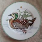 Fitz & Floyd Canard Sauvage Green Wooduck Salad Plate~7.5