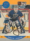 1990-91 PRO SET - CURTIS JOSEPH #638 ST. LOUIS BLUES AUTOGRAPH CC