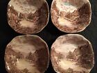 Johnson Bros Ironstone England Olde English Countryside soup cereal bowls Set 4