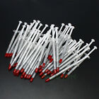 100pcs Silver Thermal Grease Silicone Compound Paste For VGA CPU Heatsink Chip