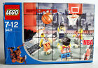 RARE 2003 LEGO 3431 SPORTS BASKETBALL NBA STREETBAL 2 VS 2 NEW SEALED MISB !