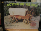 Vintage 1977 Allwood Products 1/16 Scale Wooden Covered Wagon Model Kit 5014