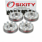 4 2 8 Lug Silver Wheel Spacers 8x65 for Dodge Ram 2500 3500 Ford 9 16 Studs