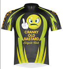 Primal Wear Cranky Old Bastard Cycling Team Jersey Mens short sleeve bicycle