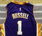 D'Angelo Russell Signed Autograph Los Angeles Lakers Jersey NBA Ohio State