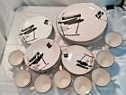 39 Piece 1986 Sango The Larry Laslo Collection - Calligraphy Set - FREE SHIP