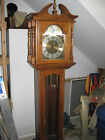 GRANDFATHER CLOCK Emperor black cherry missing 1 part in pendulum assembly