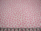 3 Yards Cotton Flannel Fabric Northcott Pink Warrior Breast Cancer Ribbons Pnk