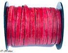 Genuine Flat Leather Cord - 5mm 1 Yards