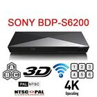 Sony BDP-S6200 Multi-Region Region Free Dual Core 3D Blu-Ray Disc DVD CD Player