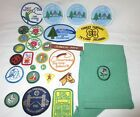 Large Lot of Vintage Girl Scout Pins Merit badges  Patches