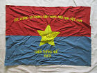 FLAG - VC Vietcong NVA NLF Flag Victory in HUE Province 1968
