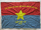 FLAG - VC Vietcong NVA NLF Flag Victory in HUE  Province 1969