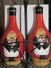 Certified international Tracy Flickinger oil and vinegar bottle set