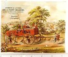 Lovely Kids Pulling Giant Wagon Paragon Axle Grease Meriam  Morgan Engraved O