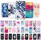 Flip Patterned Magnetic Leather Wallet Card Case Stand Cover For iPhone 6 7 Plus