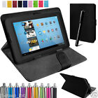 """Samsung Tablet Leather Case Cover For Android 7"""" Tablet Alcatel  Pixi 4 3 7"""""""
